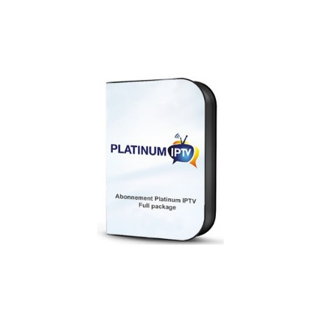 PLATINUM IPTV 12 MONTH